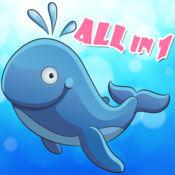神奇的海洋世界 - 3-6岁宝宝的智力游戏 1