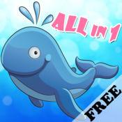 神奇的海洋世界 - 3-6岁宝宝的智力游戏Free 1