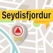 Seydisfjordur 离线地图导航和指南 1