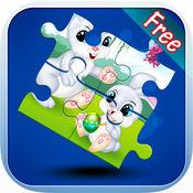 拼图动物 - 游戏为幼儿和儿童 1