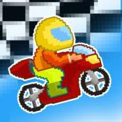 软盘摩托车骑手 ...