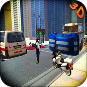 3D 救护车 模拟...