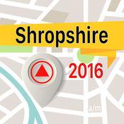 Shropshire 离线地图导航和指南 1