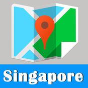 Singapore Map offline, BeetleTrip Singapore subway met