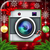 圣诞照片编辑器 – 最好拼贴制作者同Insta相框和效果 1