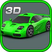 3D 汽车 路 种族 游戏 1