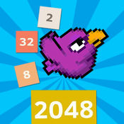 Flappy Of 2048-官方免费游戏,超高难度超越bird 1.4
