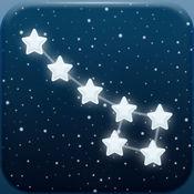 夜晚星空 - 星图...