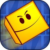 惊人的几何积木跳转短跑 - 玩转生存游戏的孩子 PRO 1