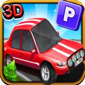 3D香椿停车场(驱动动漫游戏的男孩和女孩) 1