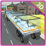 3D转运卡车的海洋动物 - 终极驾驶和停车模拟器游戏 1.0.1