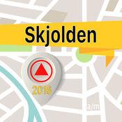 Skjolden 离线地图导航和指南 1