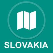 斯洛伐克 : 离线GPS导航 1