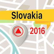 斯洛伐克 离线地图导航和指南 1