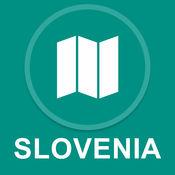 斯洛文尼亚 : 离线GPS导航 1