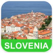 斯洛文尼亚 离线地图 - PLACE STARS v1.1