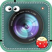 爱美丽贴纸-编辑器,筛选器,影响,再加上帧 b612 为你的相机
