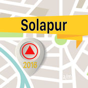Solapur 离线地图导航和指南 1