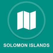 所罗门群岛 : 离线GPS导航 1