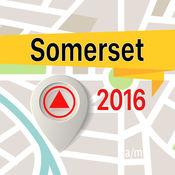 Somerset 离线地图导航和指南 1