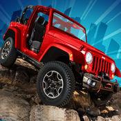4轮特技驱动器 - 3D怪物卡车赛车游戏 1
