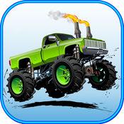卡车 种族 3d - ...