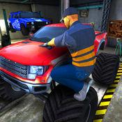 卡车机械模拟器 - 汽车车间和发动机修理游戏 1
