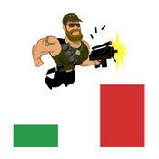 Amazing Hero Jumper - 拍摄彩色瓷砖的平台游戏独立游戏 1