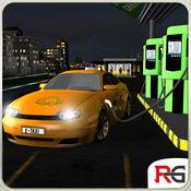 电动车出租车模拟器3D:日夜司机的工作 1
