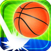 篮球把戏射击...