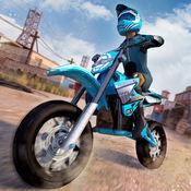 摩托赛车疯狂3D...