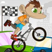 特技自行车赛 - ...