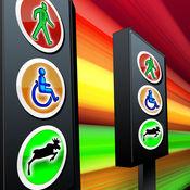 符号标志亚军:躲避危险和运行 - 免费版 1