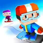 Blocky Snowboarding - 无尽街机跑酷者 1.4