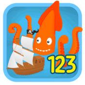 海盗点到点连接点为学龄前幼儿123票免费游戏 1.3