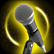 金色的 变声 应用 - 转变 录音 同 女 要么 深 声音 效果 1