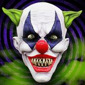 杀手小丑照片蒙太奇贴纸的脸照片改头换面 1