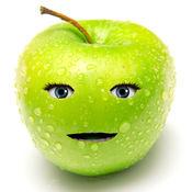 会说话的苹果...