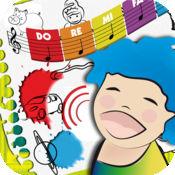 唱歌涂色 | 边涂色唱歌,边学习音乐,是儿童喜欢的游戏方式 1.