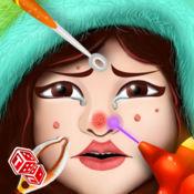 皮肤医生 - 面部美容疗程治愈的疾病的化妆品,在门诊医生