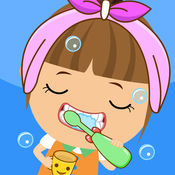 艾米爱刷牙,宝宝...