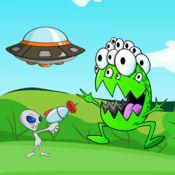 对于外星怪物着色书游戏 1
