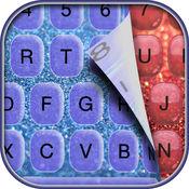 闪光 键盘 -  定制 键盘 同 发光 背景 和 字体