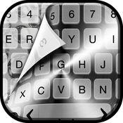 银色 键盘 自由 - 豪华 键盘 同 幻想 新 字体 和 背景 1