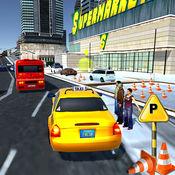出租车司机3D模...