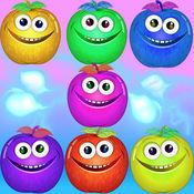 好玩的水果益智游戏 技能比赛 最佳匹配3 1