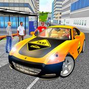 出租车司机3D城市仓促税 1