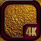 黄金壁纸4K UHD - 闪光的背景图片为您的设备绝对免费 1