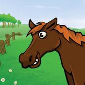 遊戲的孩子與動物在森林,農場,森林和野生動物園  1
