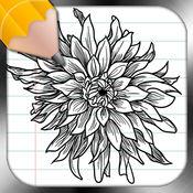 吸取经验教训,花纹身设计 1